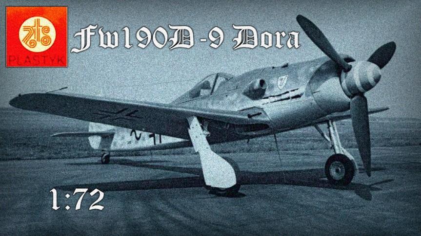 [Modelarnia] Focke Wulf Fw190D-9 DORA – ZTS Plastyk 1:72 –cz.1